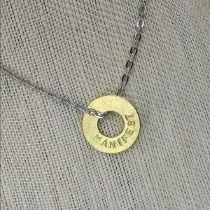 Official Authentic My Intent BRASS Necklace
